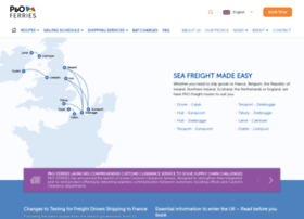 poferriesfreight.com