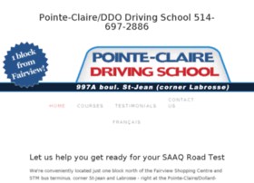 pointeclairedrivingschool.com