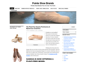 pointeshoebrands.wordpress.com