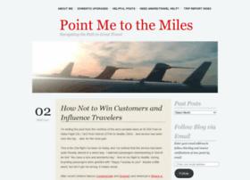 pointmetothemiles.com