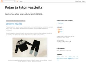 pojanvaatteita.blogspot.fi