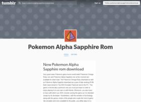 pokemonalphasapphireromdownload.tumblr.com