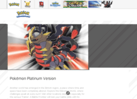 pokemonplatinum.com