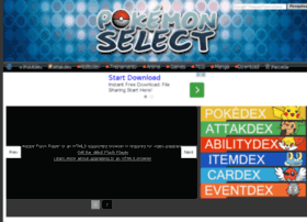 pokemonselect.com