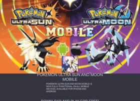 pokemonsunandmoonmobile.com