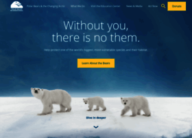 polarbearsinternational.org