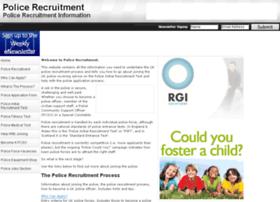 police-recruitment.com