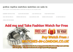 police-replica-watches.watchesonsale.in