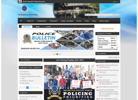 police.govmu.org