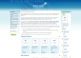 policeapplication.co.uk