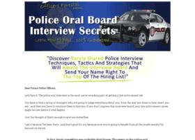 policeoralboardinterviewsecrets.com