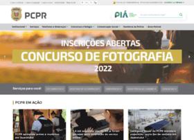 policiacivil.pr.gov.br