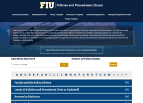 policies.fiu.edu