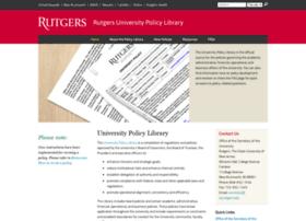 policies.rutgers.edu