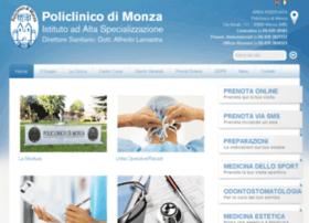 policlinicodimonza.it