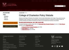 policy.cofc.edu