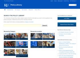 policy.ku.edu
