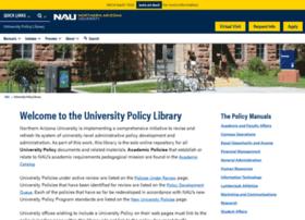 policy.nau.edu