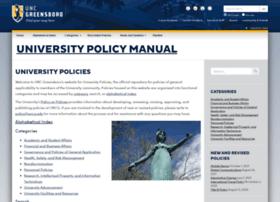 policy.uncg.edu