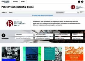 policypress.universitypressscholarship.com