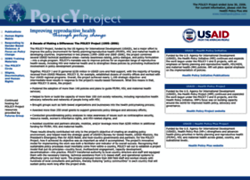 policyproject.com