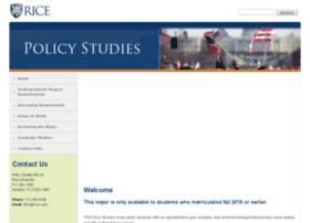 policystudies.rice.edu