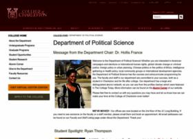 polisci.cofc.edu