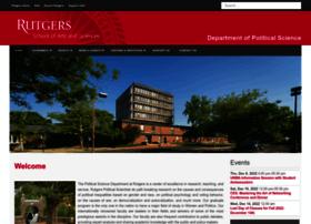 polisci.rutgers.edu