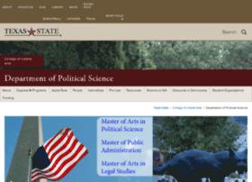 polisci.txstate.edu