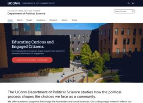 polisci.uconn.edu