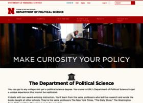 polisci.unl.edu