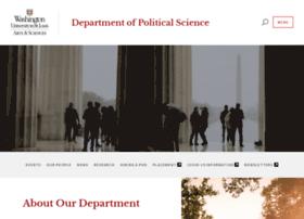 polisci.wustl.edu