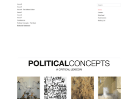 politicalconcepts.org