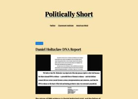 politicallyshort.com