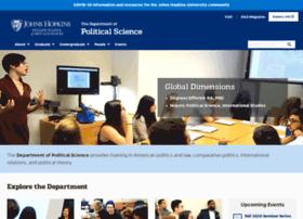 politicalscience.jhu.edu