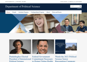 politicalscience.nd.edu