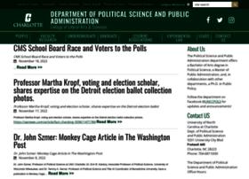 politicalscience.uncc.edu
