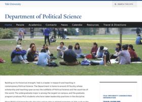 politicalscience.yale.edu