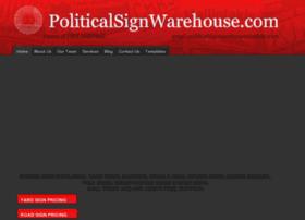 politicalsignwarehouse.com