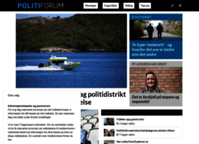 politiforum.no