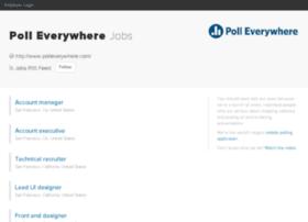 pollev.recruiterbox.com