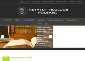 polonistyka.up.krakow.pl