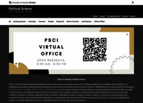 polsci.colorado.edu