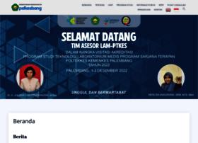 Poltekkespalembang.ac.id