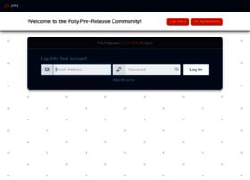 polycom.centercode.com