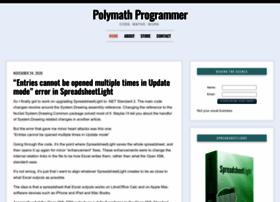 polymathprogrammer.com