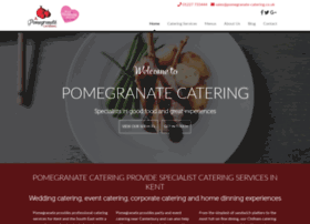 pomegranate-catering.co.uk