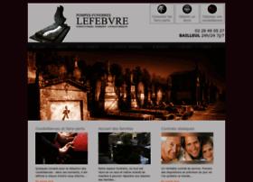 pompes-funebres-lefebvre.com