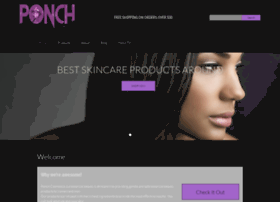 ponchcosmetics.com