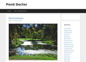 ponddoctor.scienceblog.com
